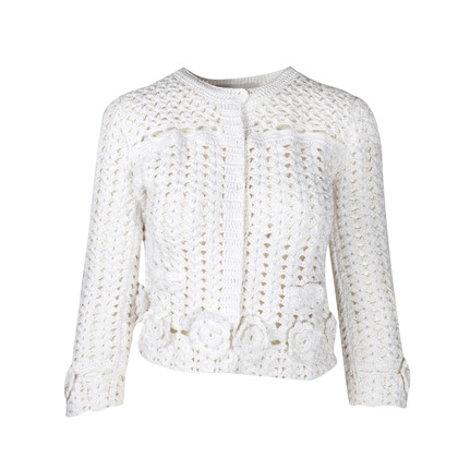 Authentic Second Hand Dolce & Gabbana Crochet Jacket (PSS-097-00028)