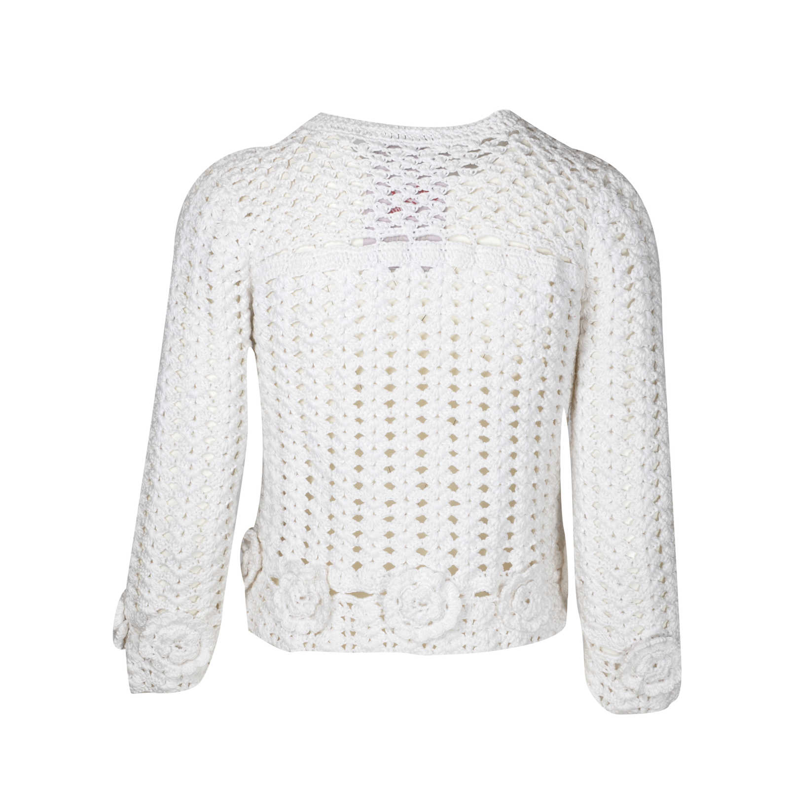 dd0c96df ... Authentic Second Hand Dolce & Gabbana Crochet Jacket (PSS-097-00028) ...