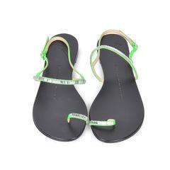 Rhinestone Toe Sandals