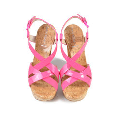 Patent Strappy Sandals