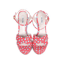 Polka Dotted Sandals