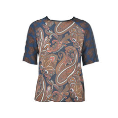Paisley Patterned Top