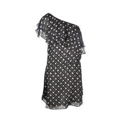 Polka Dot Toga Dress