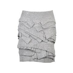 Woollen Ruffled Skirt