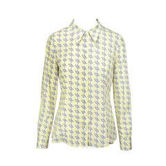 Printed Long Sleeved Blouse