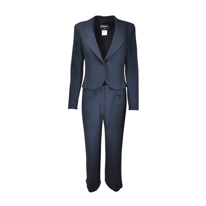 Authentic Second Hand Chanel 2 Piece Suit (PSS-067-00059)
