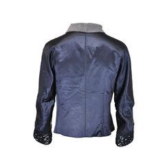 Jacket with metal hook 1