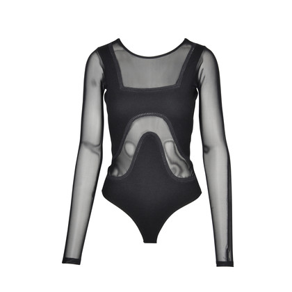 Authentic Second Hand Alice McCall Mesh Cut Out Bodysuit (PSS-075-00023)