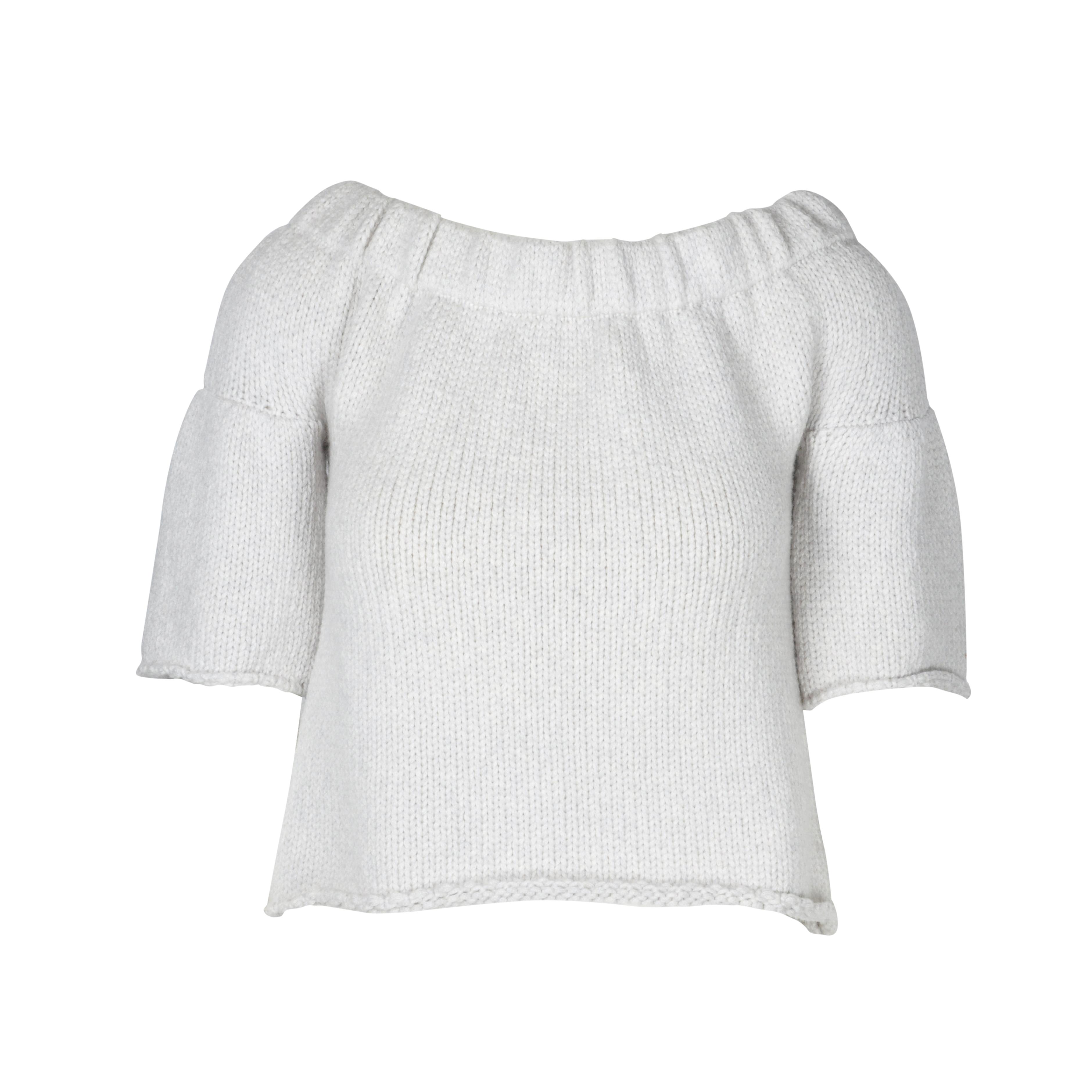 dc4a86b85d40d Authentic Second Hand Miu Miu Knit Crop Top (PSS-075-00050)