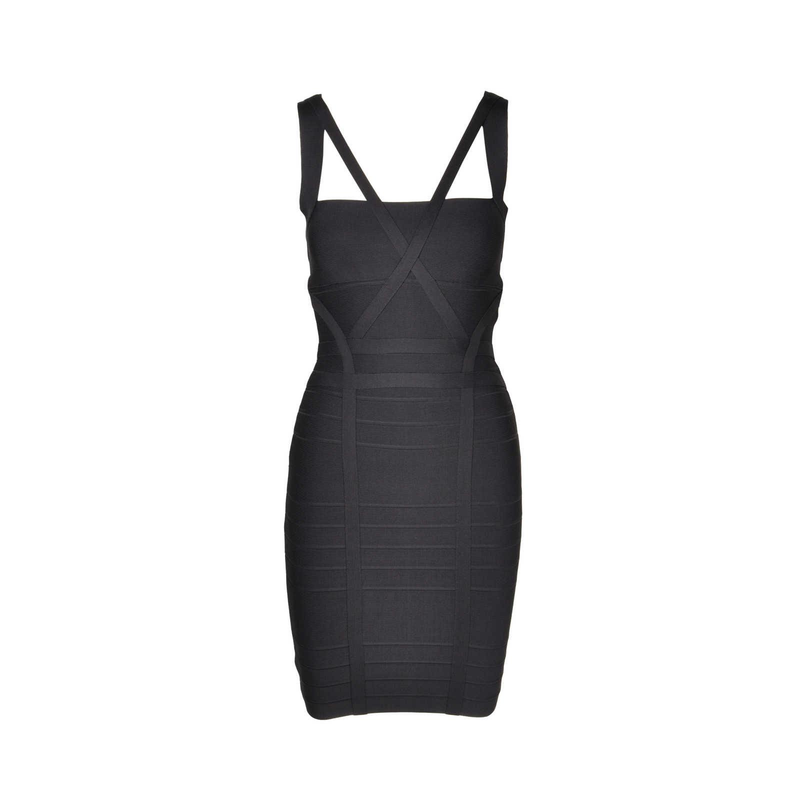 9230a4977736 Authentic Second Hand Hervé Leger Bandage Dress (PSS-075-00066) - Thumbnail  ...