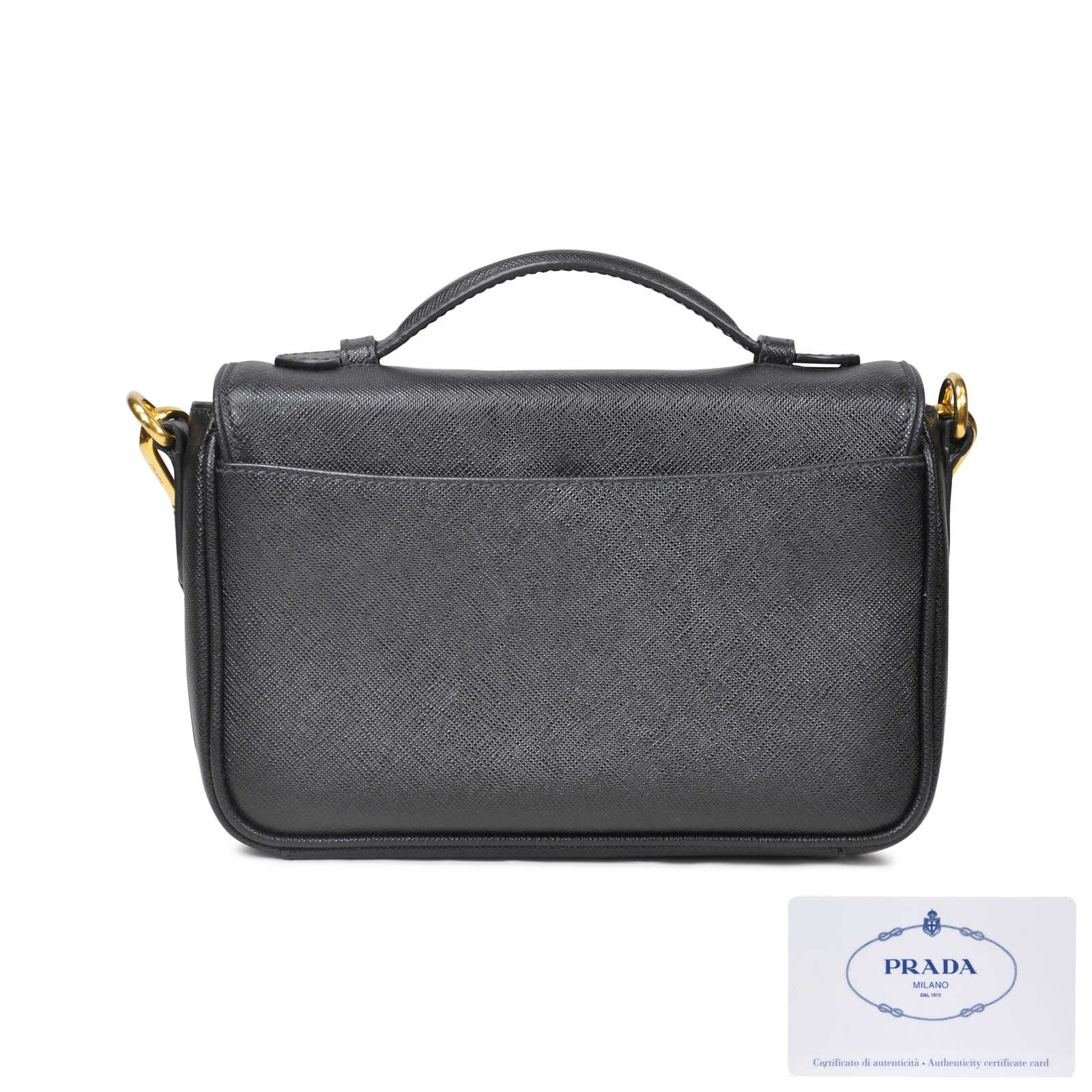 e9121dc862ae ... release date authentic pre owned prada saffiano mini crossbody pss 020  00015 thumbnail d3cb4 af9b6 ...