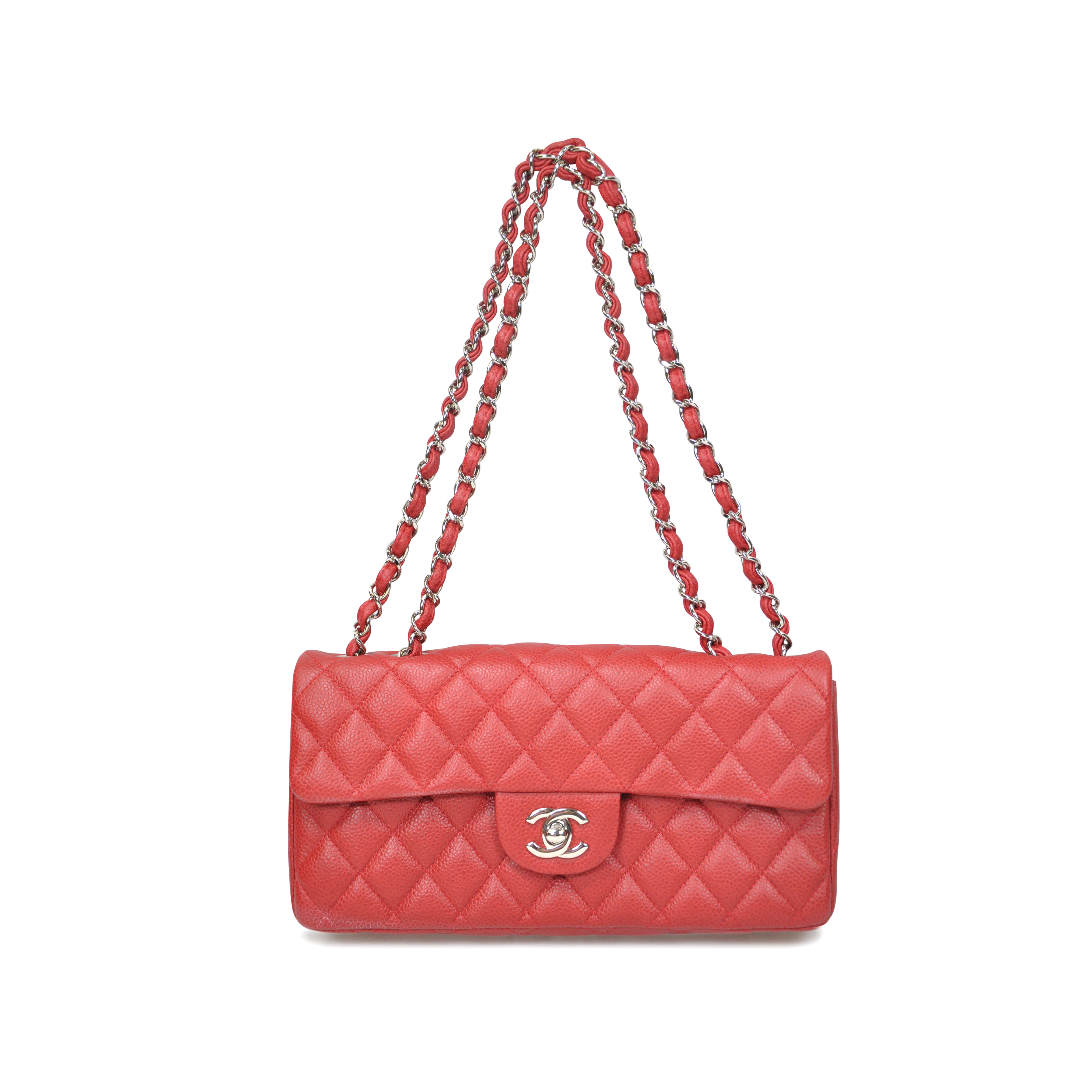 bbf54ca3b070 Authentic Second Hand Chanel East West Flap Bag (PSS-020-00016) | THE FIFTH  COLLECTION