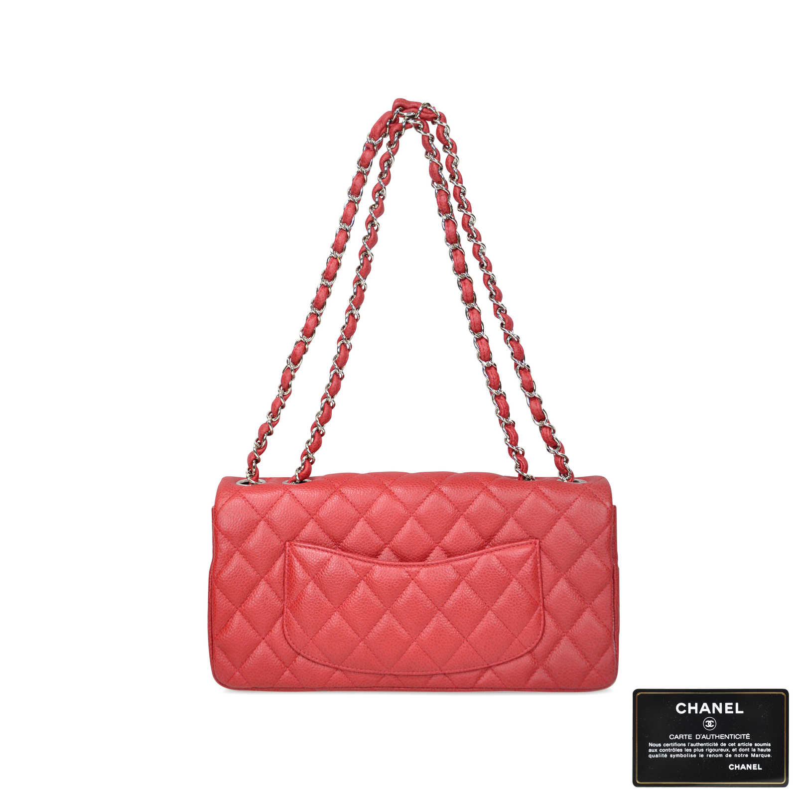 8d5338869fd434 ... Authentic Second Hand Chanel East West Flap Bag (PSS-020-00016) ...