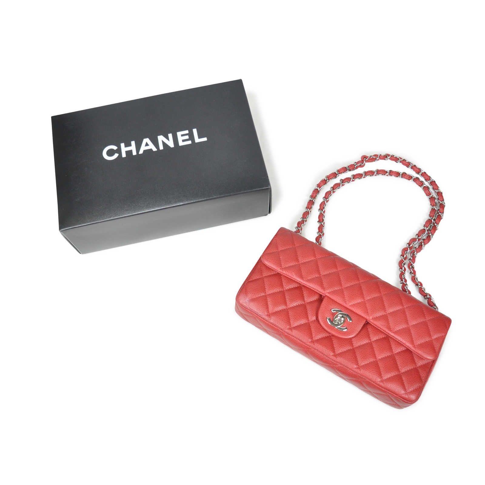 6f91c6743b48 ... Authentic Second Hand Chanel East West Flap Bag (PSS-020-00016) -