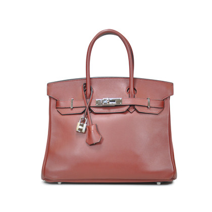 Authentic Second Hand Hermès Rouge H Birkin (PSS-020-00018)