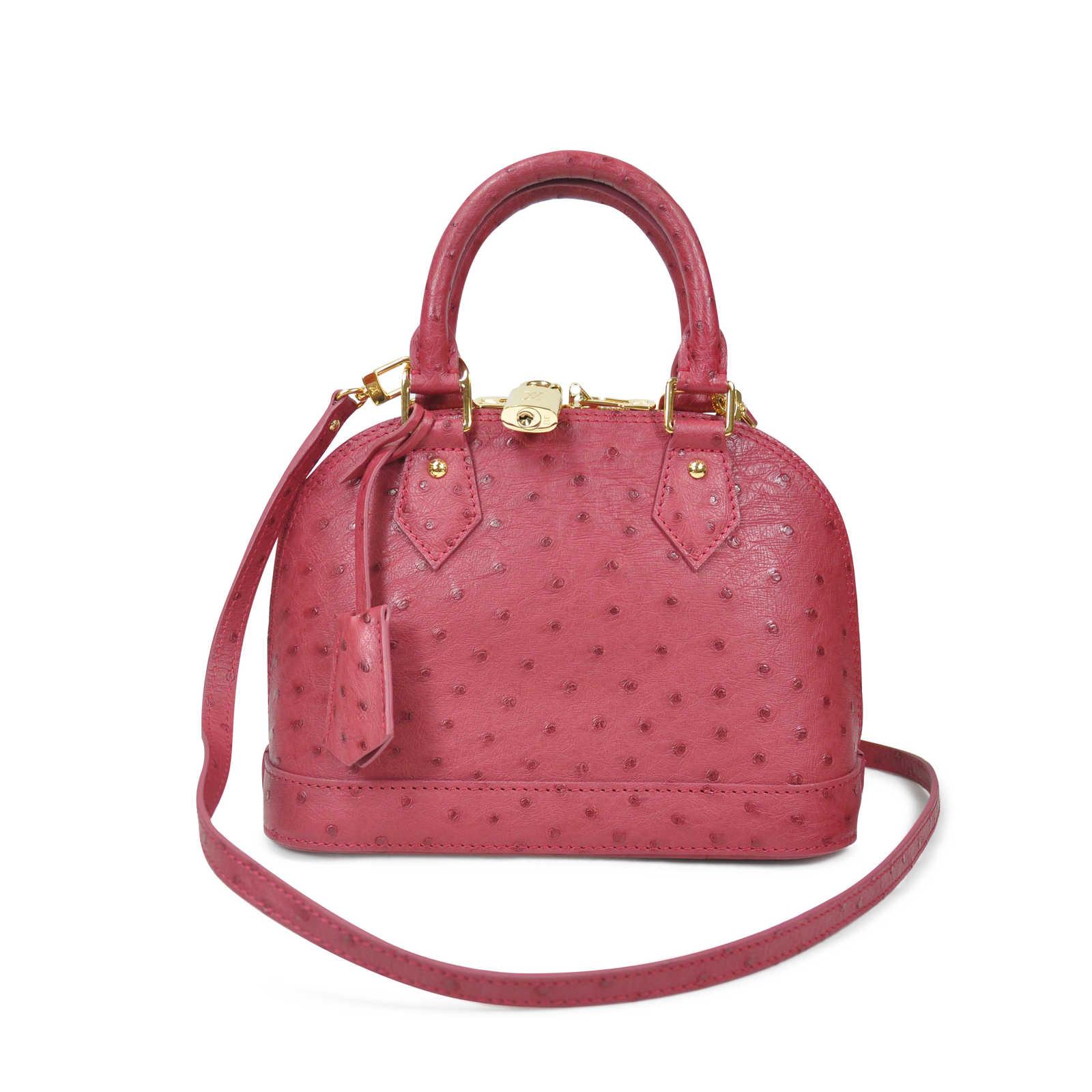Authentic Pre Owned Louis Vuitton Ostrich Alma Bb Bag Pss 020 00019 Gucci Mini