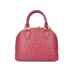Louis vuitton ostrich alma bb bag 2