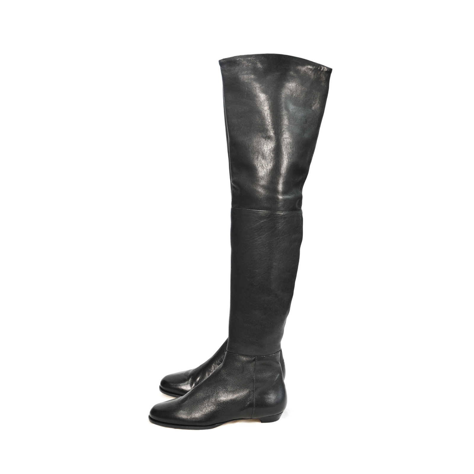 1288b2d121b ... Authentic Second Hand Jimmy Choo Thigh High Boots (PSS-080-00049) ...