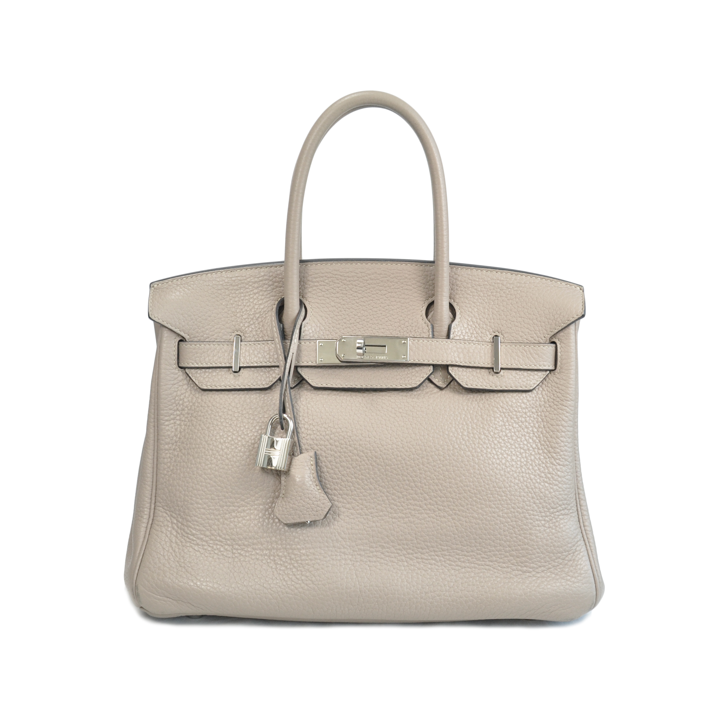 3eeccc01edb Authentic Second Hand Hermès Gris Tourterelle Birkin (PSS-020-00022 ...