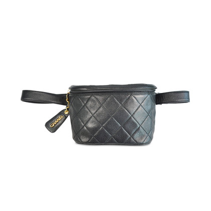 Authentic Second Hand Chanel Caviar Belt Bag (PSS-130-00002)