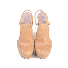 Woven Wedge Pumps