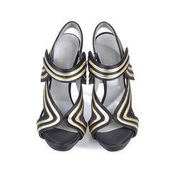 Swirl Platform Sandals