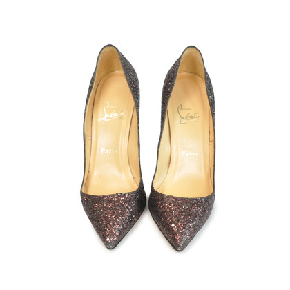 Authentic Second Hand Christian Louboutin Glitter Pigalle Pumps (PSS-088-00026)