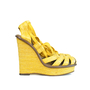 Authentic Second Hand Bottega Veneta Strappy Platform Wedges (PSS-088-00027) - Thumbnail 1