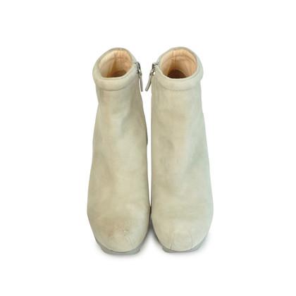 Authentic Second Hand Camilla Skovgaard Suede Wedge Boots (PSS-088-00028)