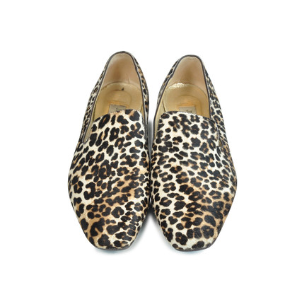 Authentic Second Hand Jimmy Choo Animal Wheel Jazz Flats (PSS-088-00030)