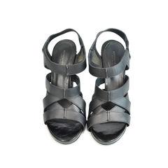 Woven Heel Sandals