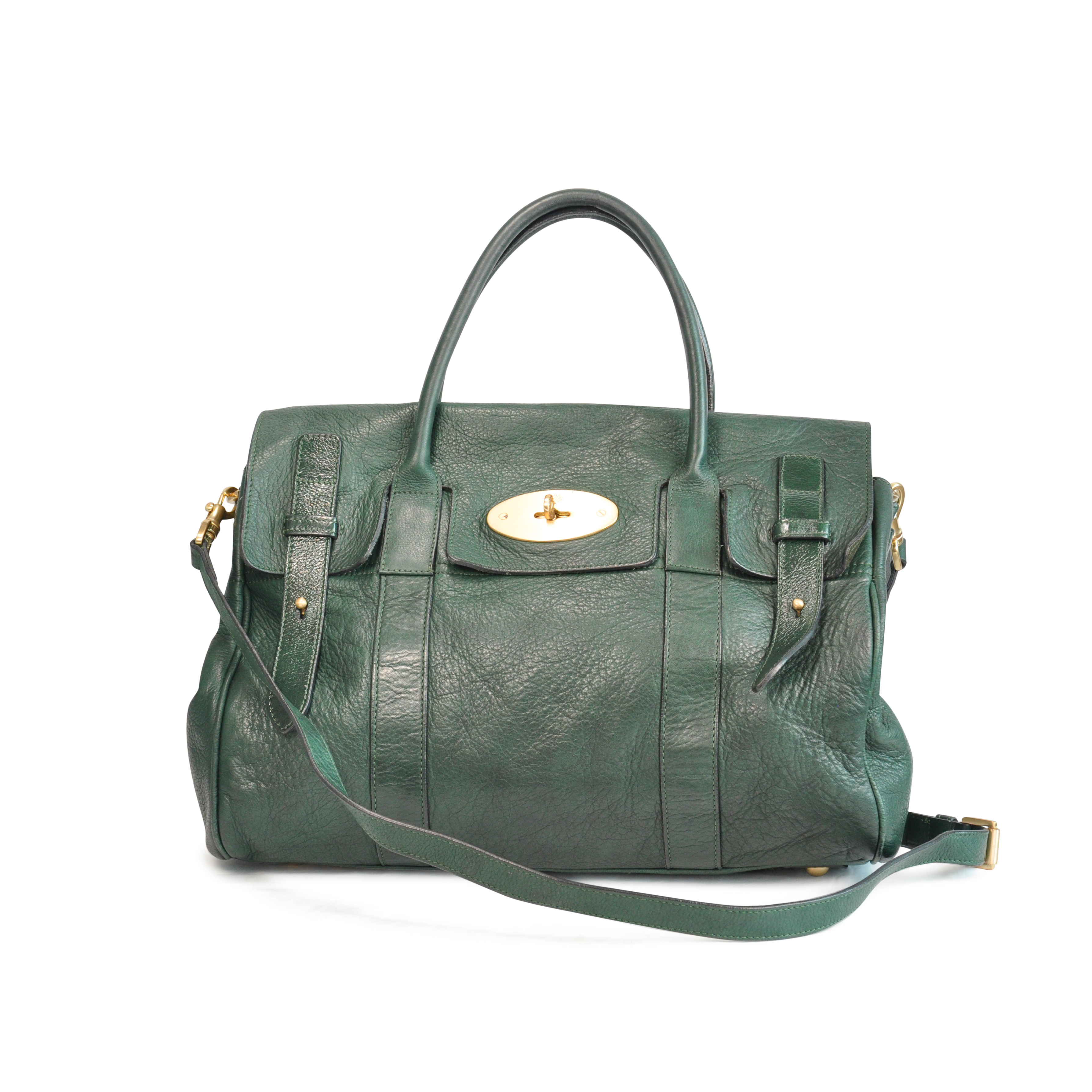 a279ecd1c2 Authentic Second Hand Mulberry Heritage Bayswater Satchel (PSS-129-00008)