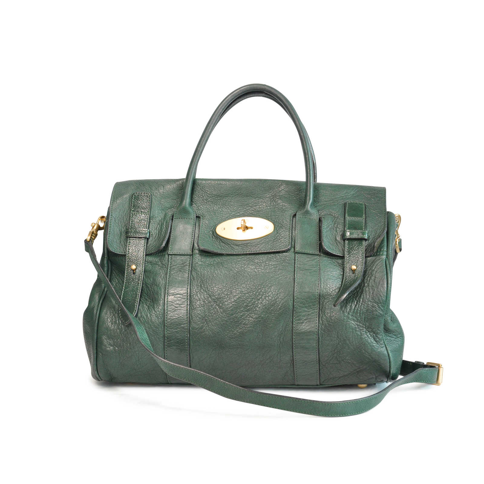 Authentic Pre Owned Mulberry Heritage Bayswater Satchel (PSS-129-00008) -  Thumbnail ... 5d9f49fed4