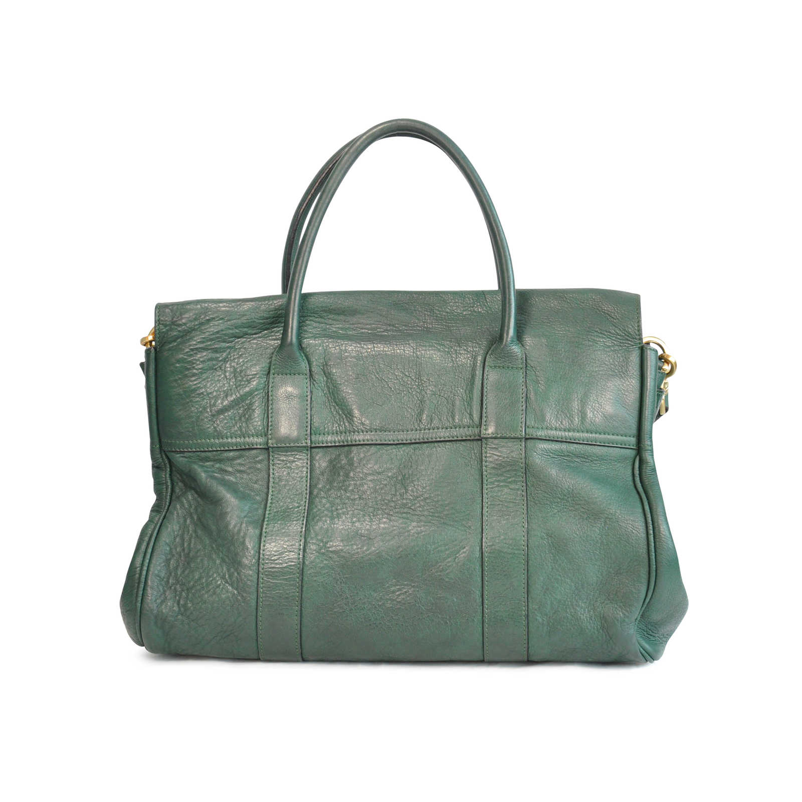 ... Authentic Pre Owned Mulberry Heritage Bayswater Satchel (PSS-129-00008)  - Thumbnail ... 7be68a1535