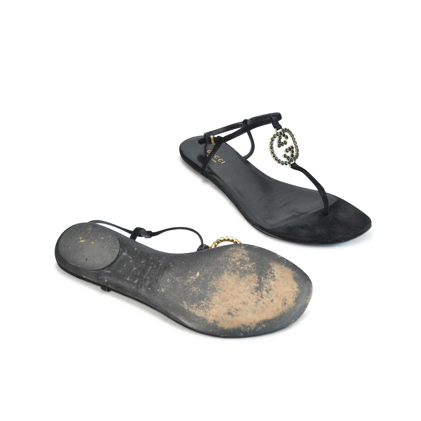 98e90b12b7c6 ... Authentic Second Hand Gucci Jewelled Thong Sandals (PSS-124-00006) -  Thumbnail ...