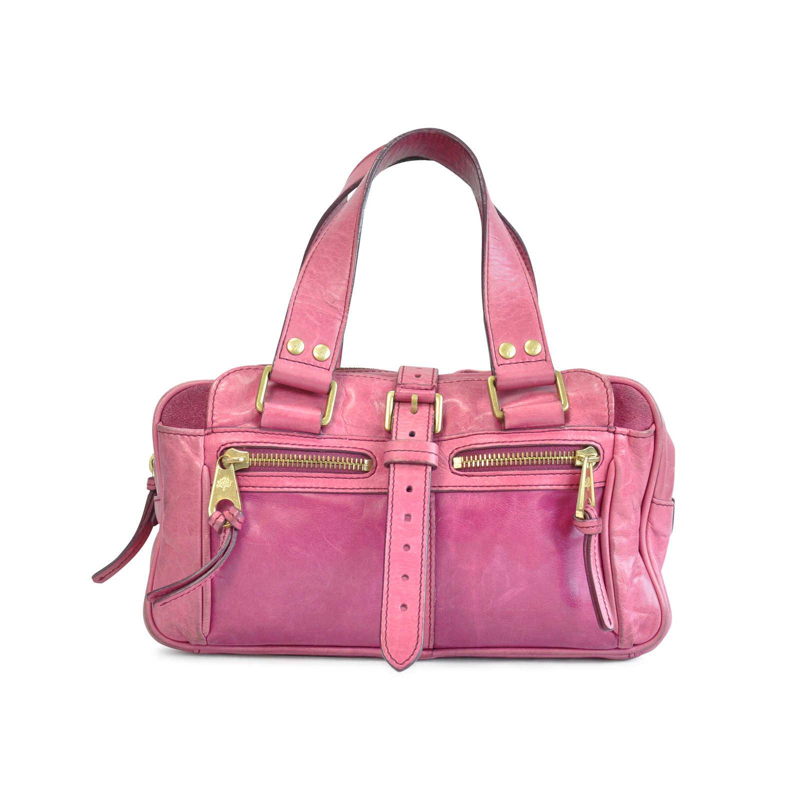 d47fe9e0b73d Authentic Second Hand Mulberry Zippered Handbag (PSS-124-00010) - Thumbnail  0 ...