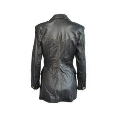 Roberto cavalli leather jacket 2