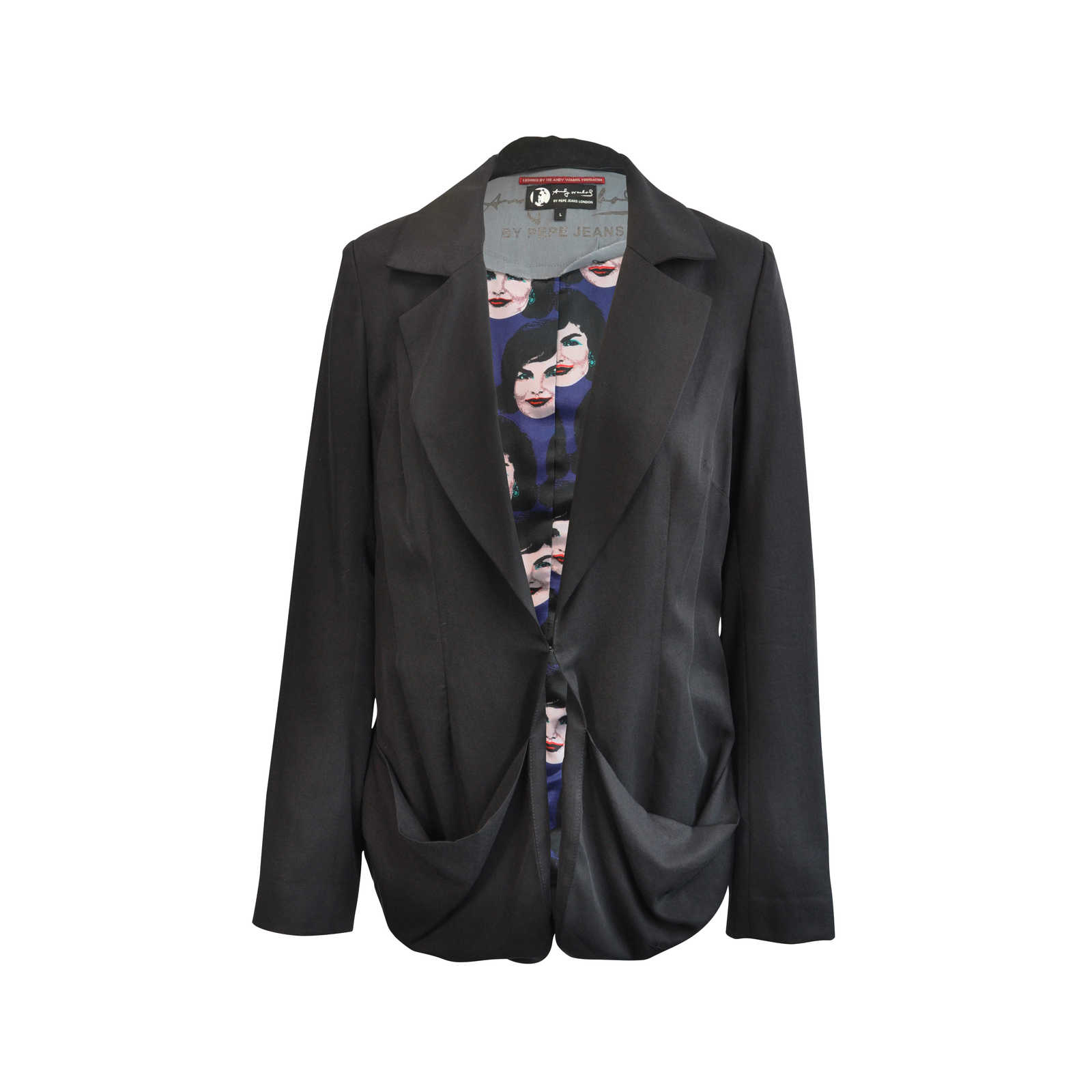 Authentic Second Hand Pepe Jeans London Andy Warhol Blazer