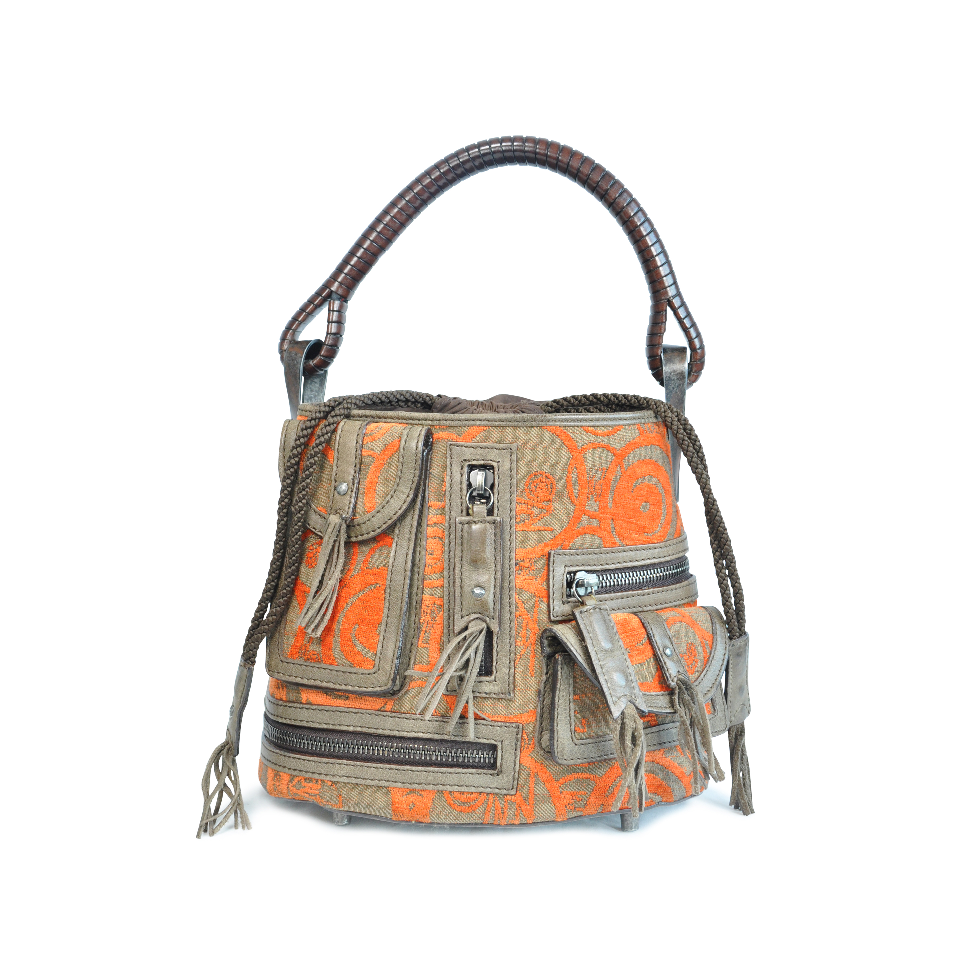 3435e1789488 Authentic Second Hand Kenzo Bucket Bag (PSS-125-00016)