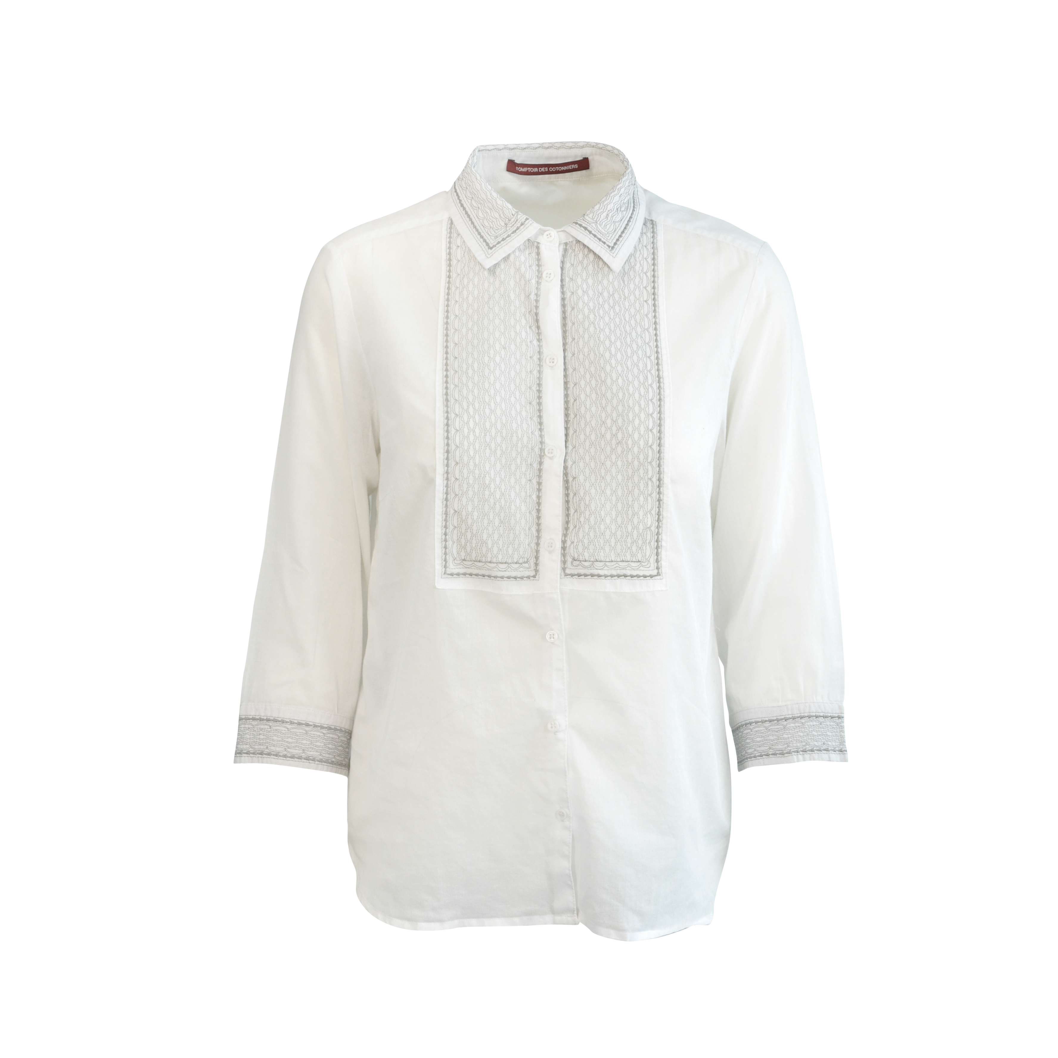 4530ac4dd89089 Authentic Second Hand Comptoir Des Cotonniers Embroidered Blouse  (PSS-125-00003)