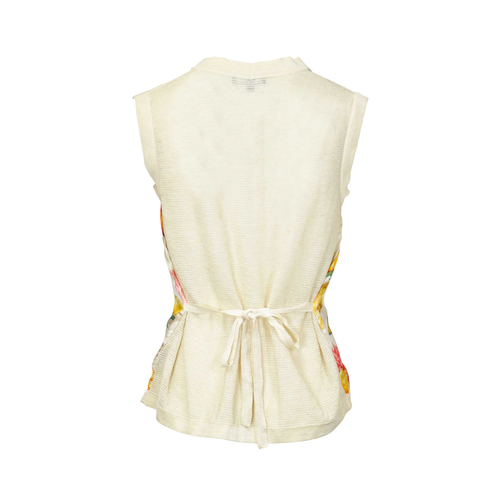 0f2bc7eb00e7dc ... Authentic Second Hand Gucci Silk Floral Vest (PSS-047-00107) -  Thumbnail ...