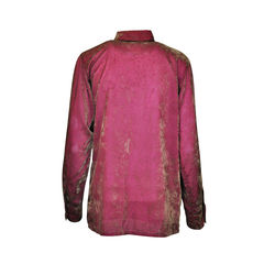 Velvet ruffled blouse 2