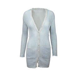Metallic Light blue cardigan