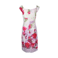 Blumarine floral dress 2