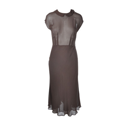 Authentic Second Hand DKNY Sheer Long Dress (PSS-047-00109)
