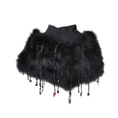 Feathered Capelet