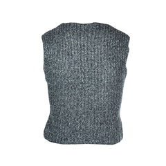 Metallic knit top 2