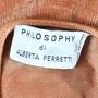 Authentic Second Hand Philosophy Di Alberta Ferretti Velvet Top (PSS-047-00167) - Thumbnail 2