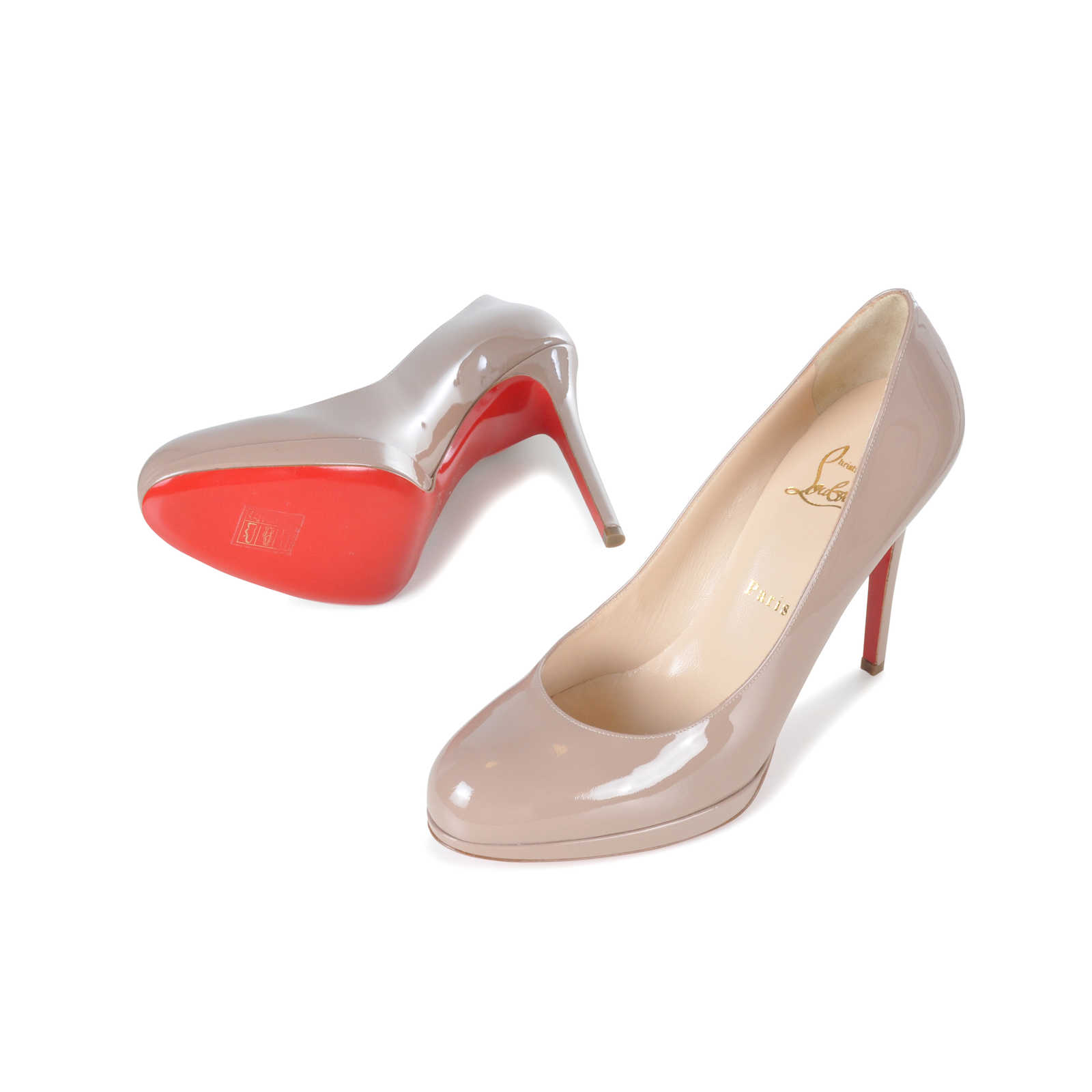 11265be2b2b9 ... Authentic Second Hand Christian Louboutin Patent New Simple Pumps  (PSS-074-00059) ...