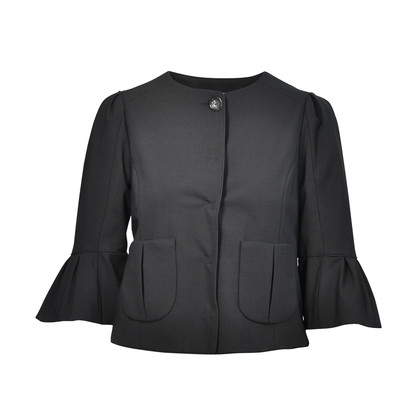 Authentic Second Hand Fendi Ruffled Sleeve Jacket (PSS-126-00005)